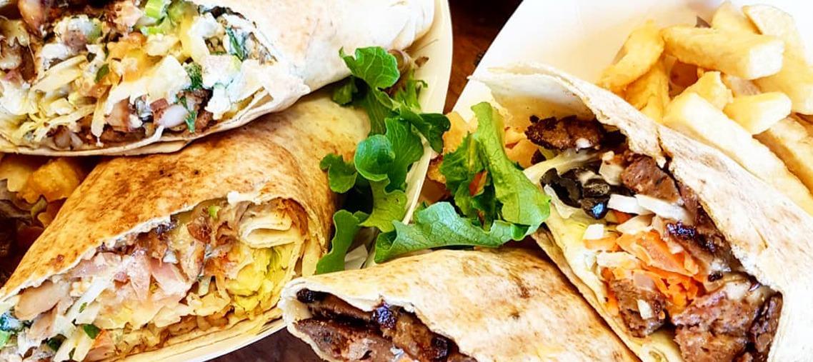 Otto's Fish Market kebabs